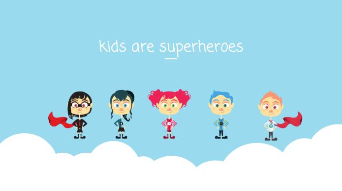 kids are superheroes